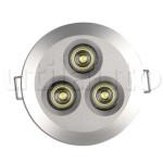 Plafonnier 3 LEDs forte puissance 9/33V