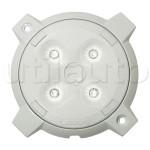 Plafonnier 4 LEDs forte puissance 10/32V