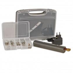 Kit réparation plastique soudage par agrafes à batterie