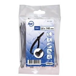Attache câble nylon 3.6x140