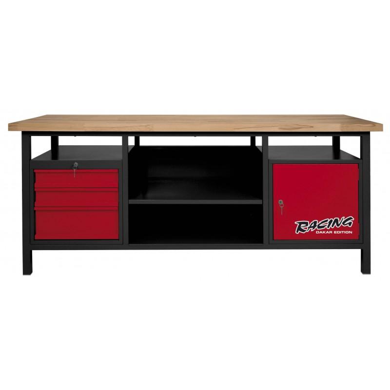 etabli d 39 atelier 1 porte tiroirs pro outils. Black Bedroom Furniture Sets. Home Design Ideas