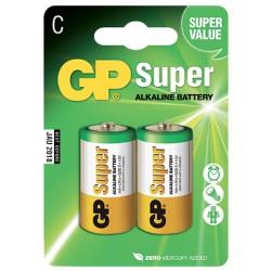 Blister de 2 piles Alcalines SUPER C/LR14