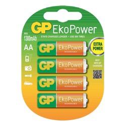 4 piles rechargeables EKOPOWER AA-LR06