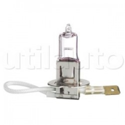 10 lampes H3 halogènes